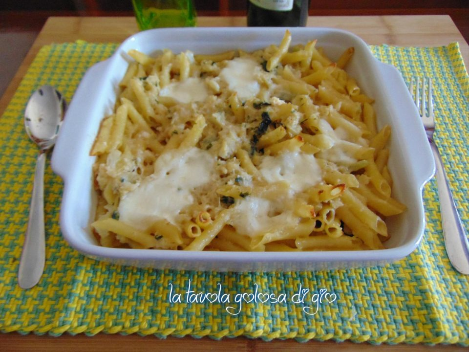 Pasta e Cavolo al Forno con Provola