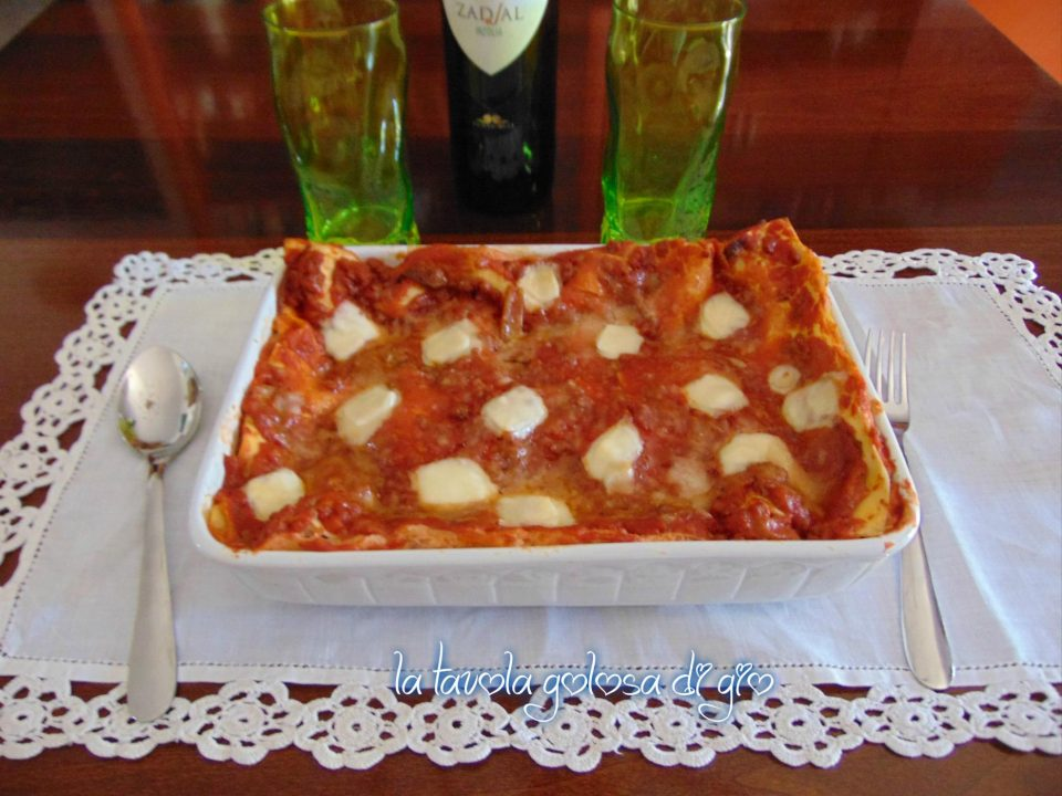 Pasticcio di lasagne napoletano
