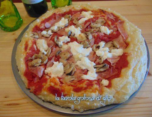 Pizza furba in pastella morbidissima