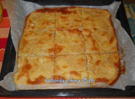 Pizza rustica di patate senza lievito