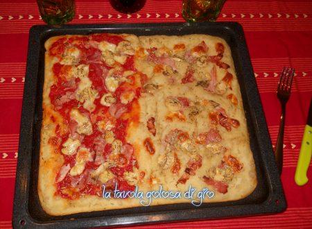 Pizza soffice a lunga lievitazione