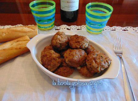 Polpette morbide di carne e patate