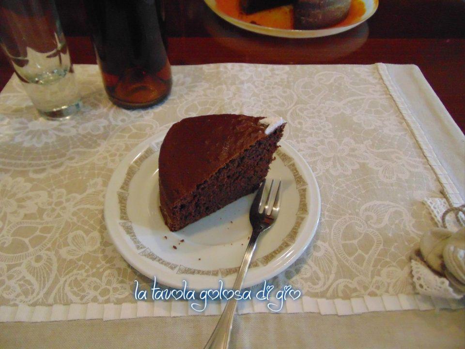 Torta Della Nonna Morbida al Cioccolato