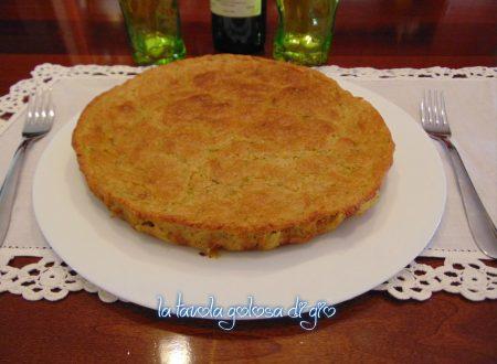Torta di parmigiano e zucchine gustosa