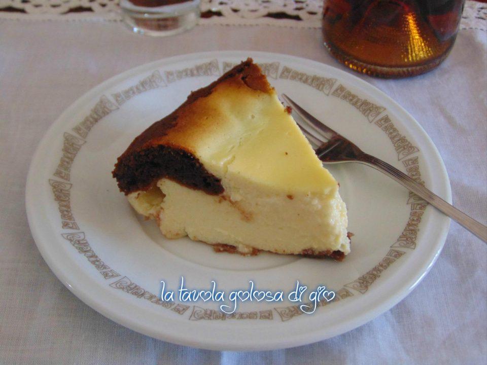 Torta robiola morbida e profumata