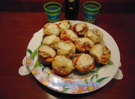 Tortine al forno in pastella salati