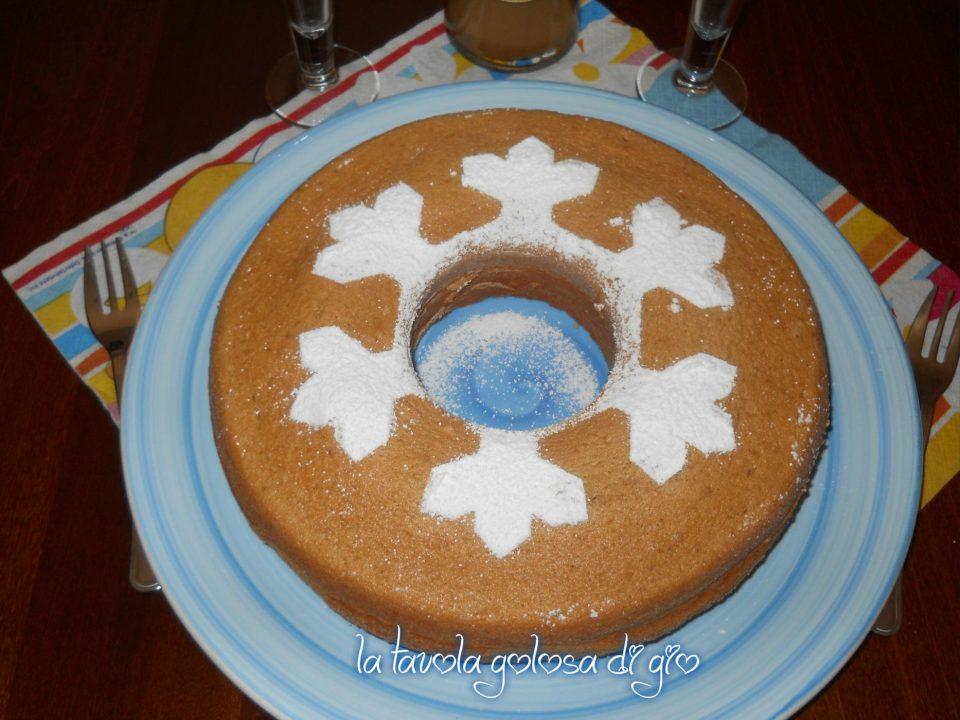 Chiffon cake morbida al caffè senza burro