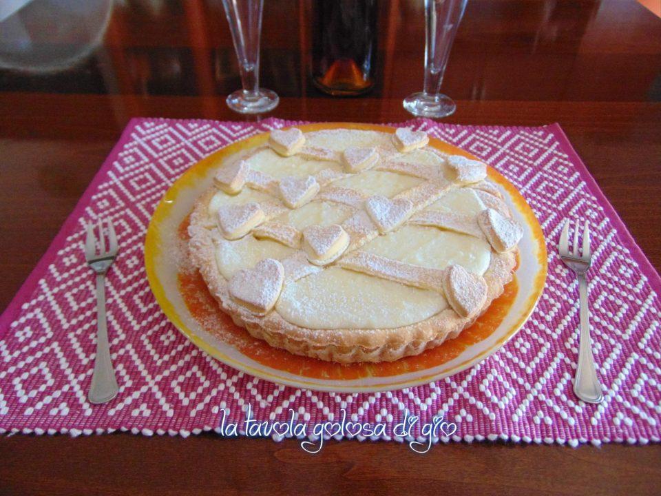 Crostata morbida con ricotta senza uova