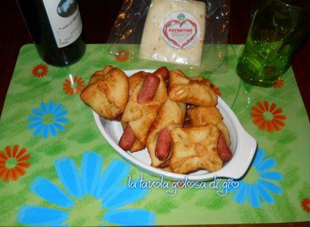 Fagotti morbidi di patate in padella