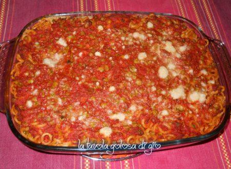 Pasta al forno alla siciliana con melanzane