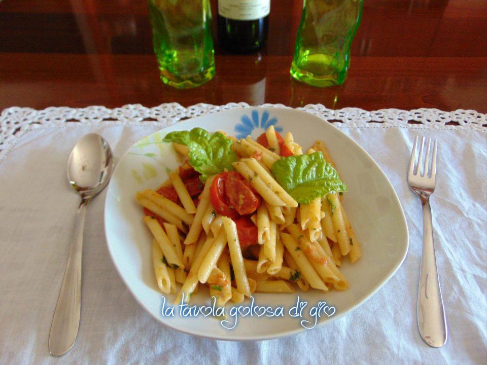 Pasta Cremosa alla Ghiottona e Pesto