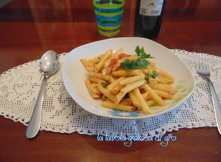 Pasta risottata con pomodoro fresco