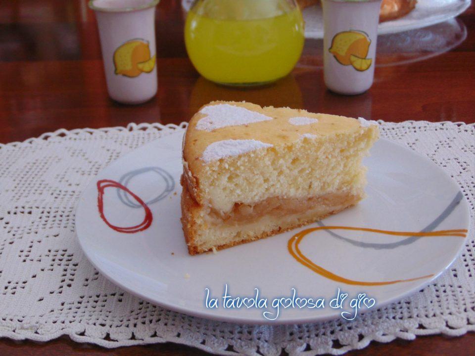 Torta di Mele Grattugiate Senza Burro