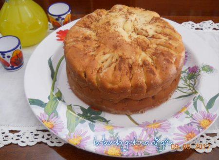 Torta di mele senza burro della nonna golosa