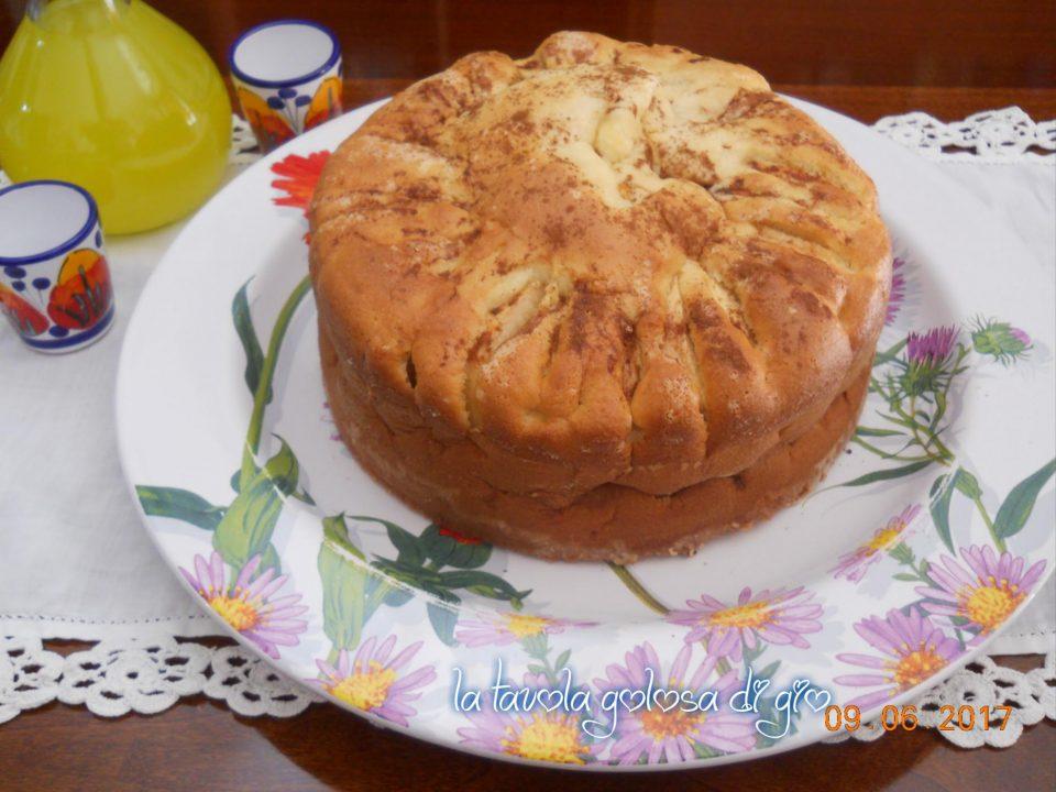 Torta di mele senza burro della nonna