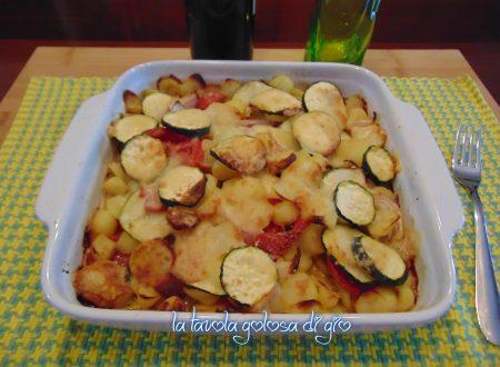 Patate alla lucana con pomodorini