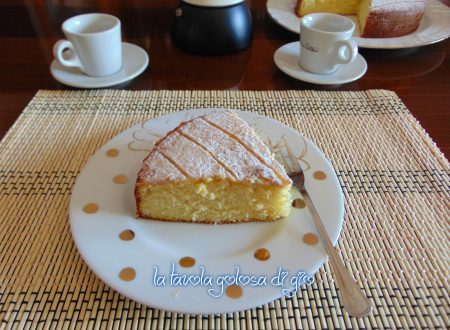 Torta soffice senza bilancia alla arancia
