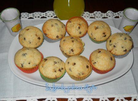 Piccoli muffins dolci di ricotta morbidi