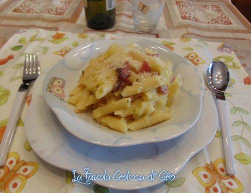 Pasta e patate napoletana con speck