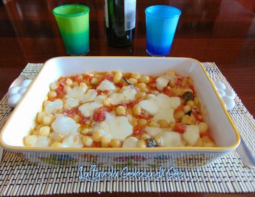 Gnocchi di ricotta veloci al forno con pomodorini