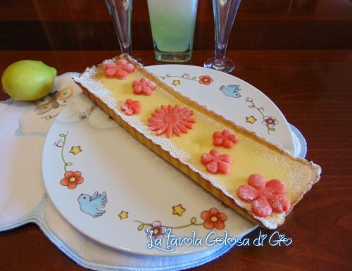 Crostata favola con crema al limone