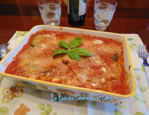 Parmigiana con mozzarella di bufala