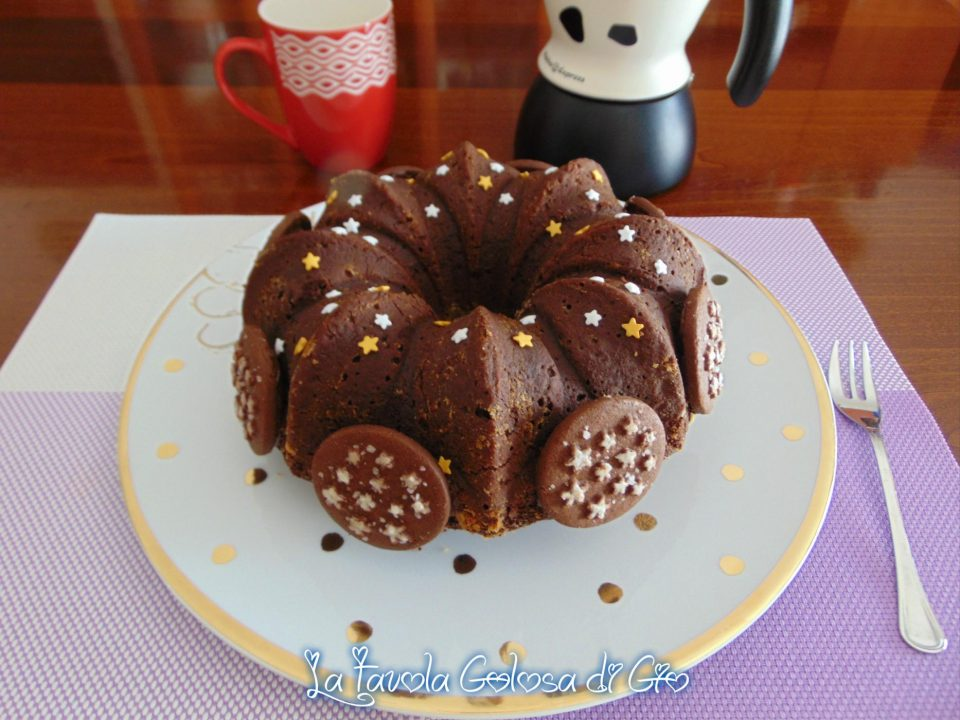 Torta pan di stelle al latte e cioccolato