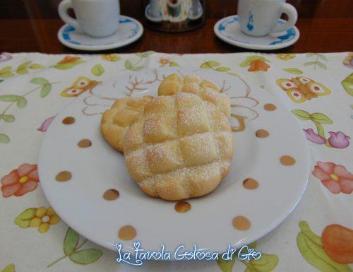 Biscotti al latte a forma di crostata