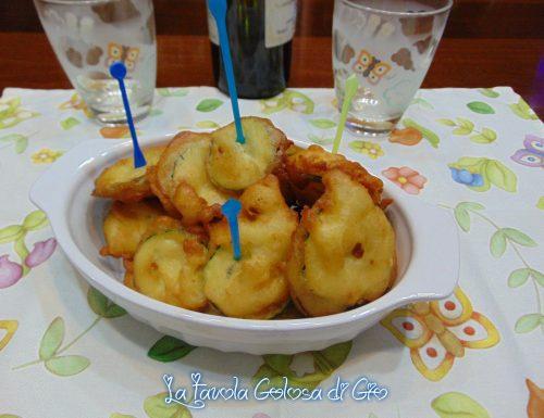 Frittelle di zucchine senza lievitazione