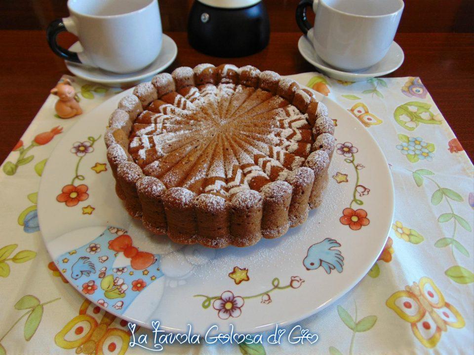 Torta biscottata con tre soli ingredienti
