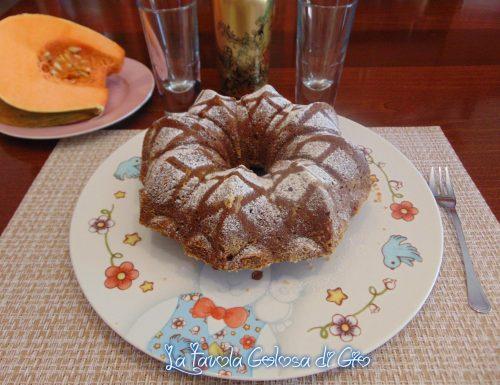 Torta delle streghe con zucca e cioccolato
