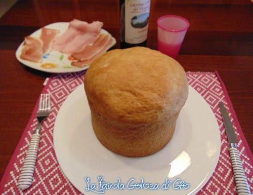 Panettone gastronomico di pan brioche