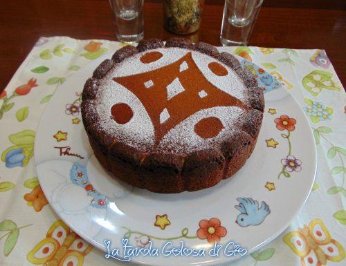 Torta merlata con sfumature al cioccolato