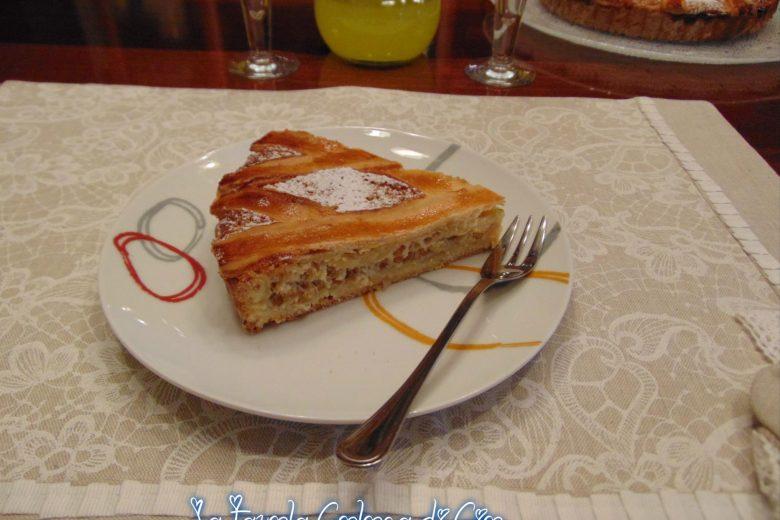 Pastiera ripiena dolce napoletana