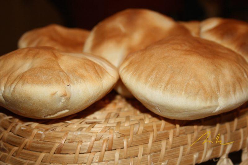 Pita o pane senza lievito