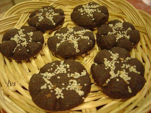 Biscotti al riso venere