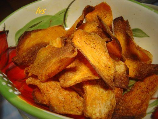 Chips di verdure dukan-style