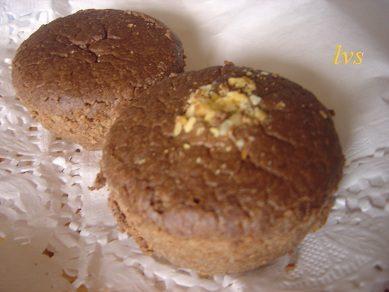 Muffin dietetici alla farina di carrube
