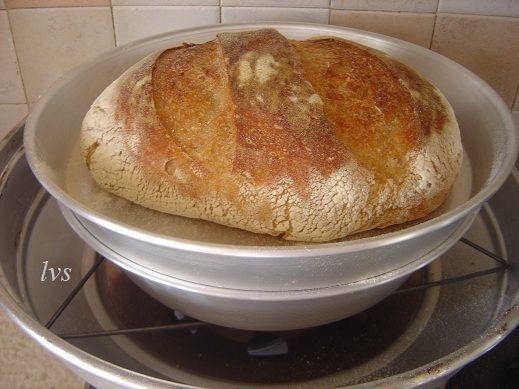 Pane al kamut nel forno estense