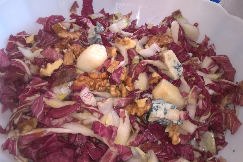 Radicchio in insalata gustosa