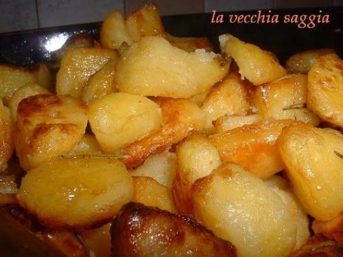 patate al forno la vecchia saggia