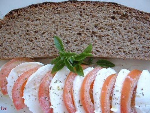 Pane di sola segale (da ricetta Ginzburg)