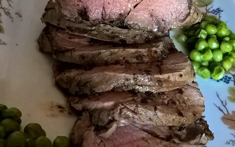 Roast beef di filetto grassfed