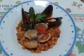 Fregola risottata con cozze e vongole