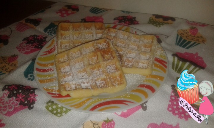 waffle o wafel