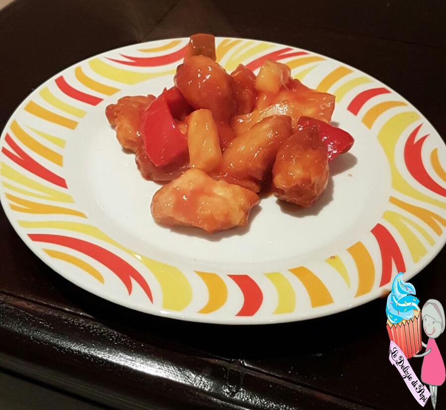 Pollo in salsa agrodolce le delizie di pepi for Piatto tipico cinese