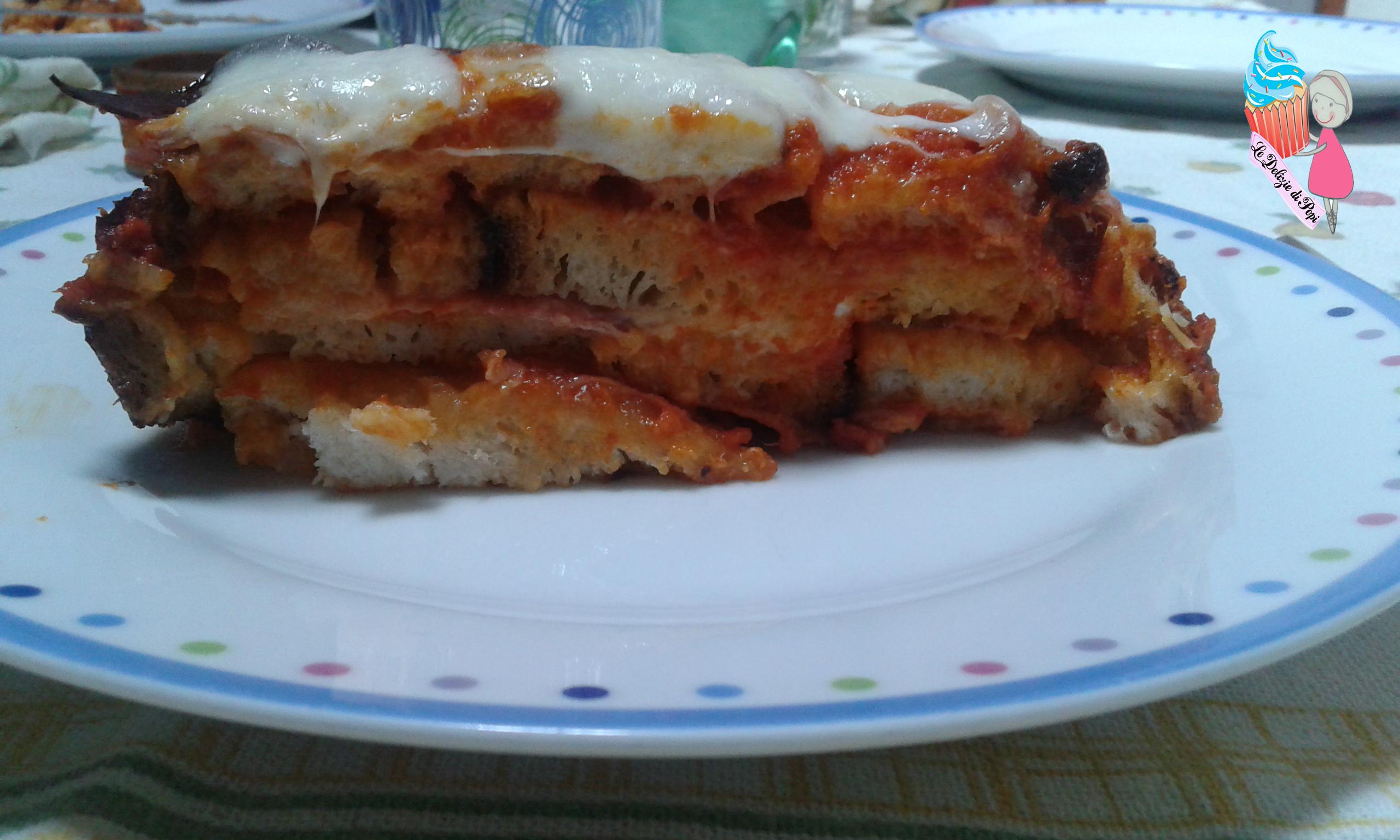 Lasagne di pane