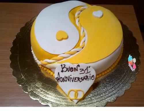 Torta yin yang