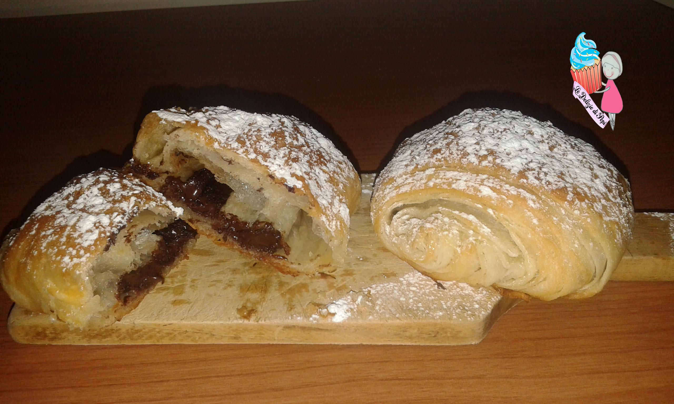 Saccottini o pain au chocolat