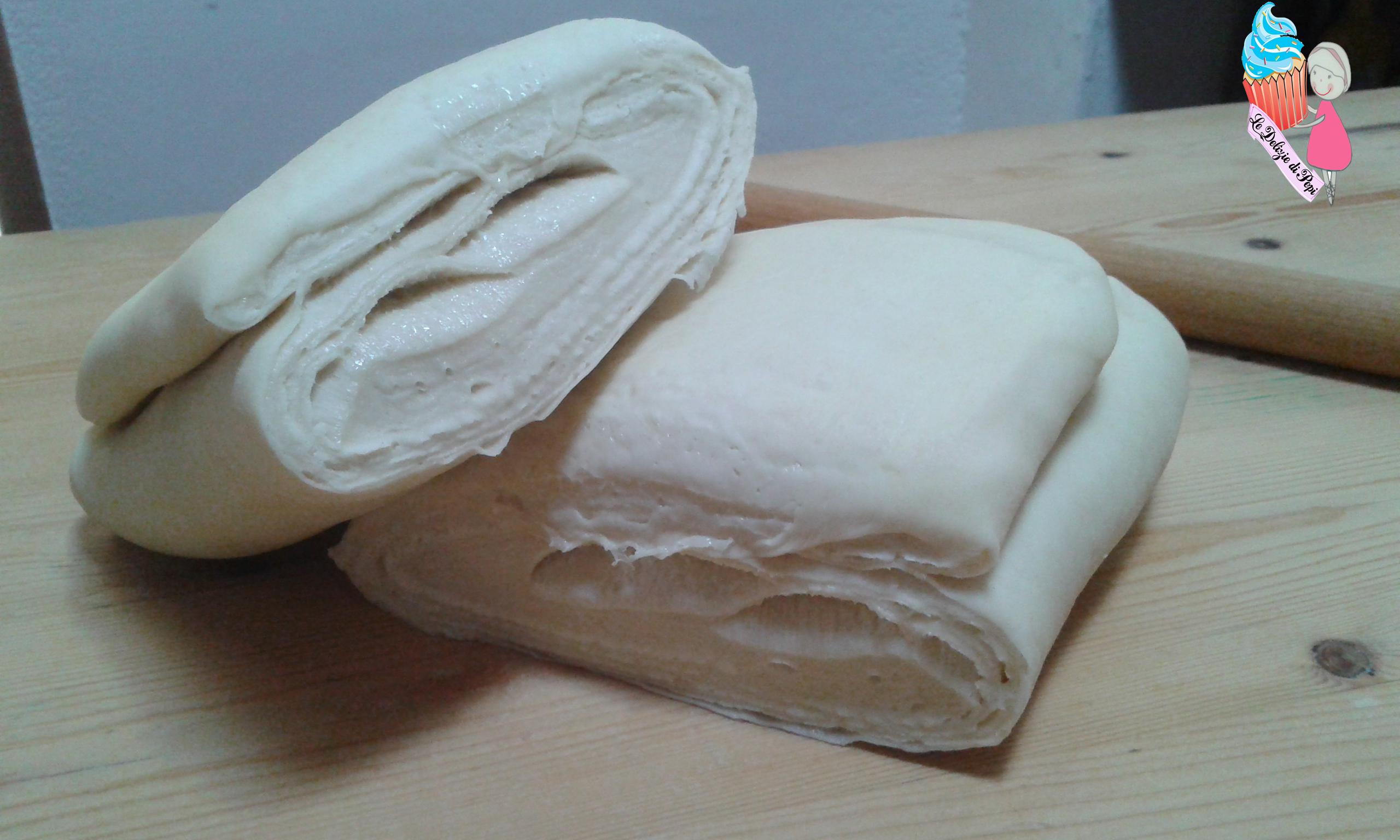 Pasta sfoglia lievitata